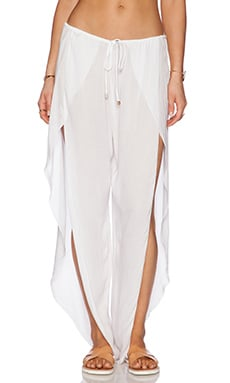 Val Pant in White