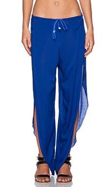 Indah Val Petal Pant in Blue