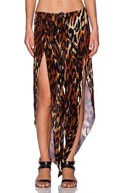Indah Val Petal Pant in Cheetah