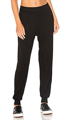 Cognac Track Pant in Black
