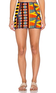 Indah Zuberi Warrior Mini Skirt in King