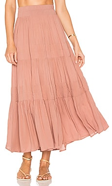 Bari Skirt in Dusty Rose