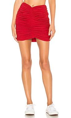 Arancini Ruched Mini Skirt Indah $46 (FINAL SALE)