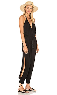 Paz Halter Jumpsuit in Black