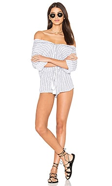 Ironwood Romper in White Nobel