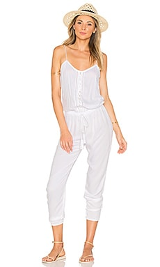 Judd Jumpsuit in White
