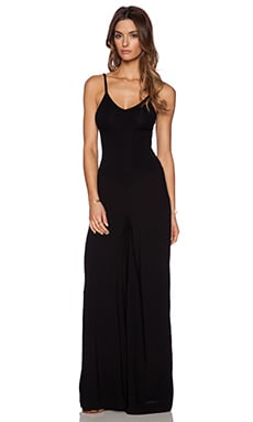 Indah Bianca Jumpsuit in Black