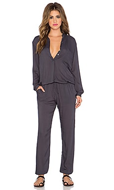 Indah Pinnacle Utility Jumpsuit in Slate