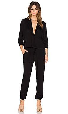 Indah Pinnacle Utility Jumpsuit in Black