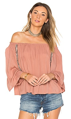 Lost Top in Dusty Rose