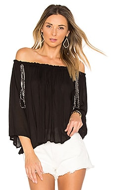 Lost Top en Noir