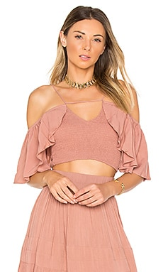 Roxy Top in Dusty Rose