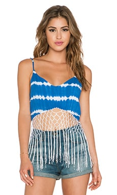 Indah Xolani Tank in Garis Blue