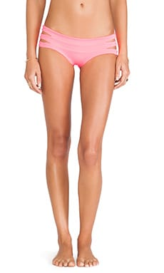 Indah Bardot Band MC Bikini Bottom in Neon Pink