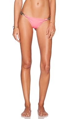 Indah Chandi Seamless Beaded Side Bottom in Pink