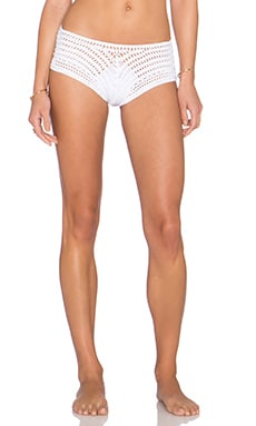 Indah Courage Bikini Bottom in White