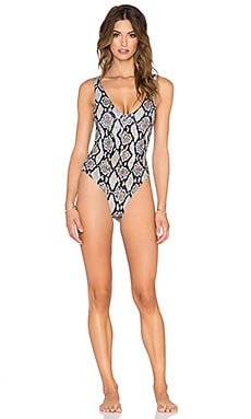 Indah Cooper Printed Swimsuit in Python