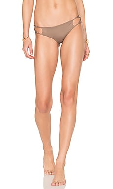Sasa Criss Cross Bottom in Mocha