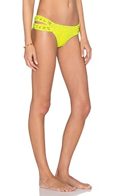 Indah Yaya Crochet Bottom in Fluoro Yellow