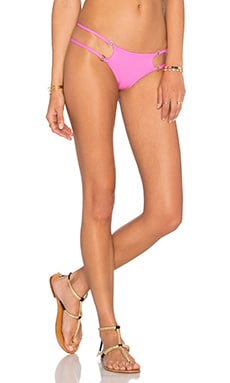 Cato Skimpy Bikini Bottom in Barbie Pink