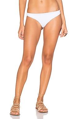 Indah Zebra Bikini Bottom in White