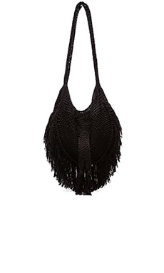 Seasame Hand Crochet Fringe Bag