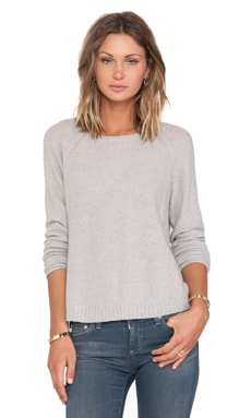 Inhabit Whisper Cashmere Crewneck Sweater in Haze