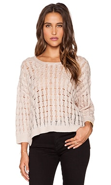 Inhabit Cashmere Crew Neck Sweater in Fawn
