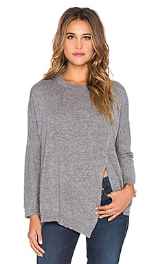 Inhabit Cashmere Mod Poncho Sweater in Beene