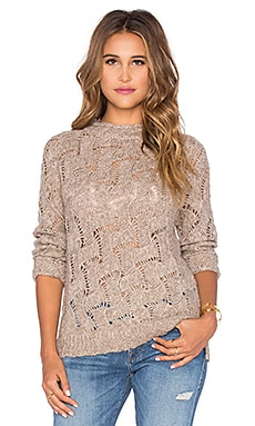 Inhabit Bohemian Slub Sweater in Tweed