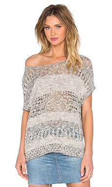 Short Sleeve Pullover in Pewter