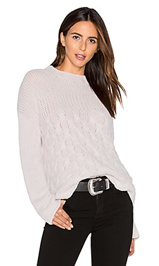 Mix Stitch Sweater in Oyster