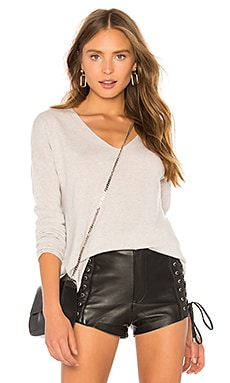 Drapey V Pullover Inhabit $124