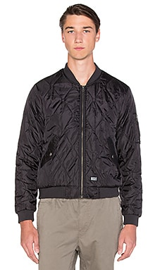 Insight Performative Bomber Jacket in Black
