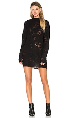 x ANJA RUBIK Iriza Dress in Black