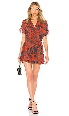 Купить Платье kizz - IRO, Короткий рукав, Китай, Красный