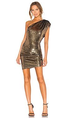 Купить Платье exciter - IRO цвет металлический золотой