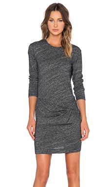 IRO Leticia Dress in Dark Grey