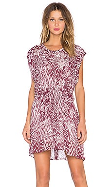 IRO Cantela Dress in Burgundy