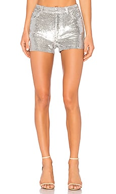 Obi Shorts in Silver