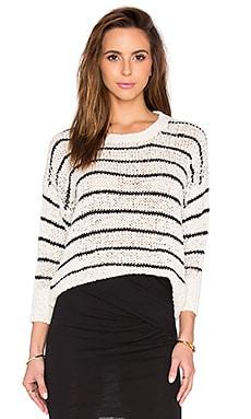 Odessa Sweater in Ecru & Black