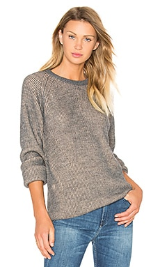 IRO Brauw Sweater in Beige & Stone Grey