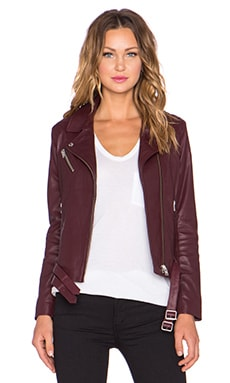 IRO Jone Jacket in Burgundy