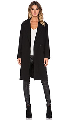 Brannon Coat in Black