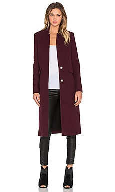 IRO Axter Coat in Burgundy