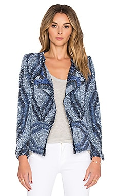 IRO Lee Jacket in Navy