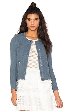 Agnette Jacket in Stone Blue