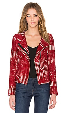 Mepsie Jacket in Red