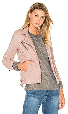 IRO Han Jacket in Pink & Grey