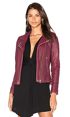 Han Jacket en Bordeaux
